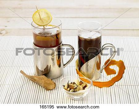 Stock Image of Hot Toddy and Swedish grog 165195.