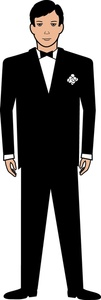 Groom Clipart Image.