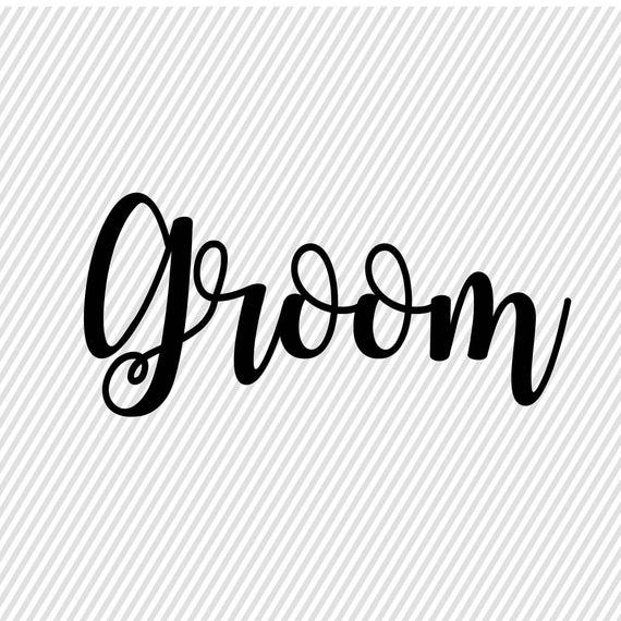 Groom SVG.