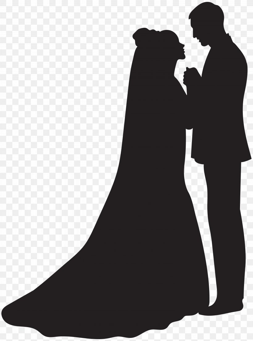 Silhouette Bridegroom Clip Art, PNG, 5934x8000px, Silhouette.