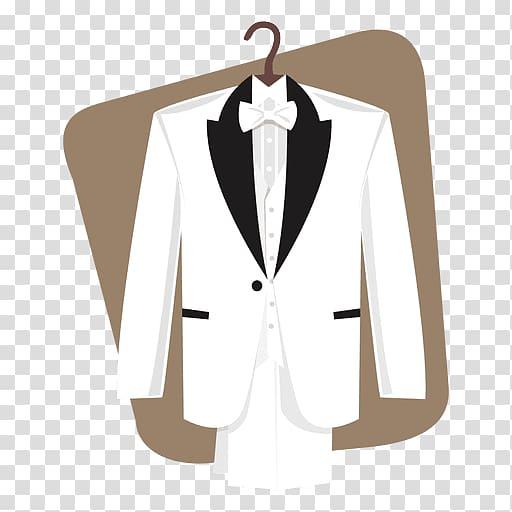 Wedding dress Suit Bride, groom transparent background PNG.