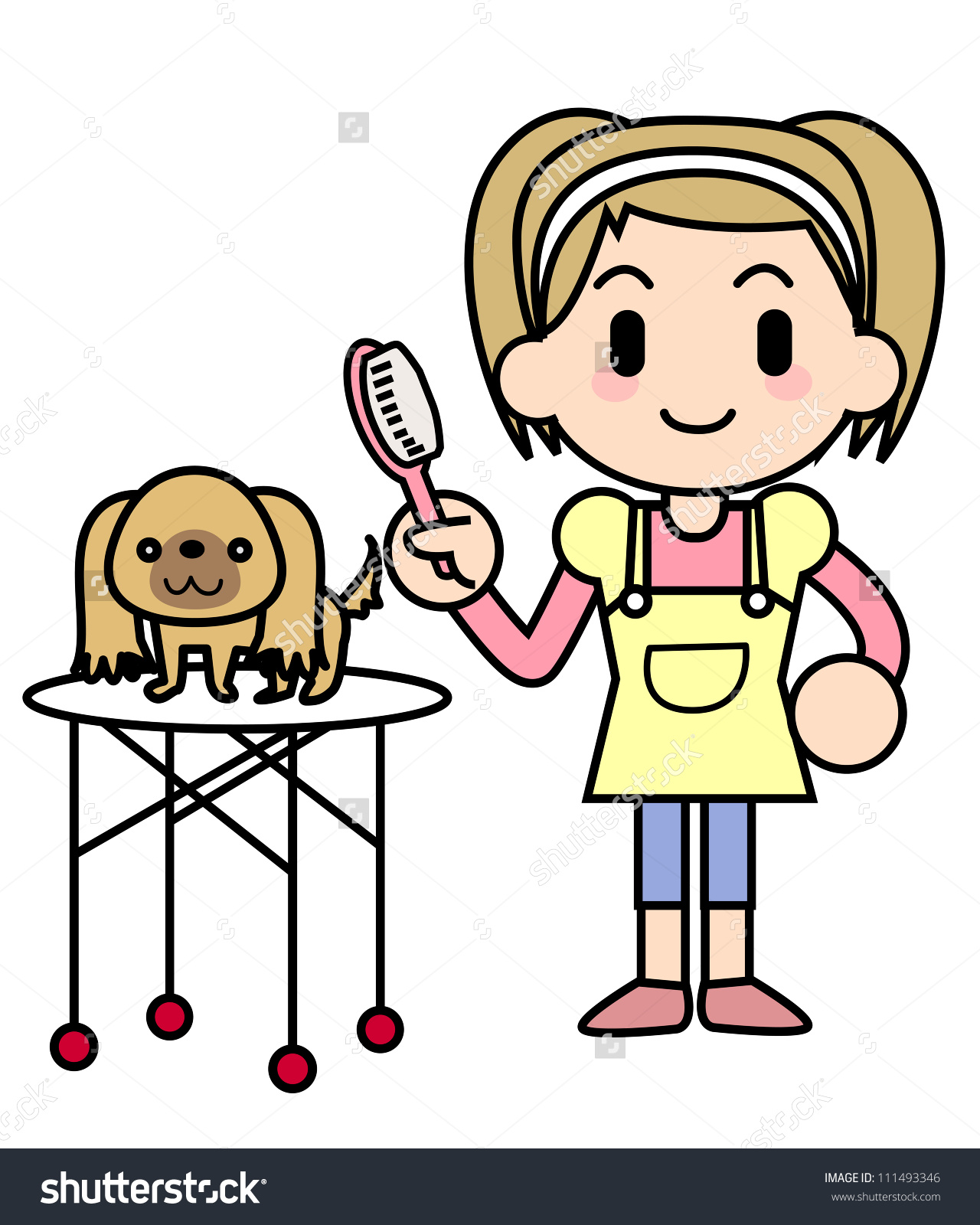 Groomer clipart - Clipground