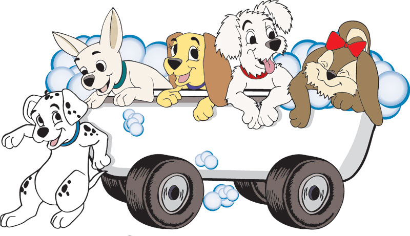 Dog Grooming Clipart.