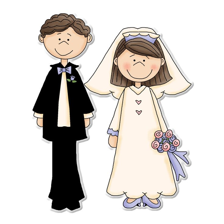 17 Best images about ღ Clipart ~ Bride & Groom ღ on Pinterest.