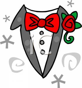 Image: The Groom's Suit.
