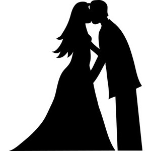 Bride and groom cartoon on grooms wedding couples and cartoon clip.