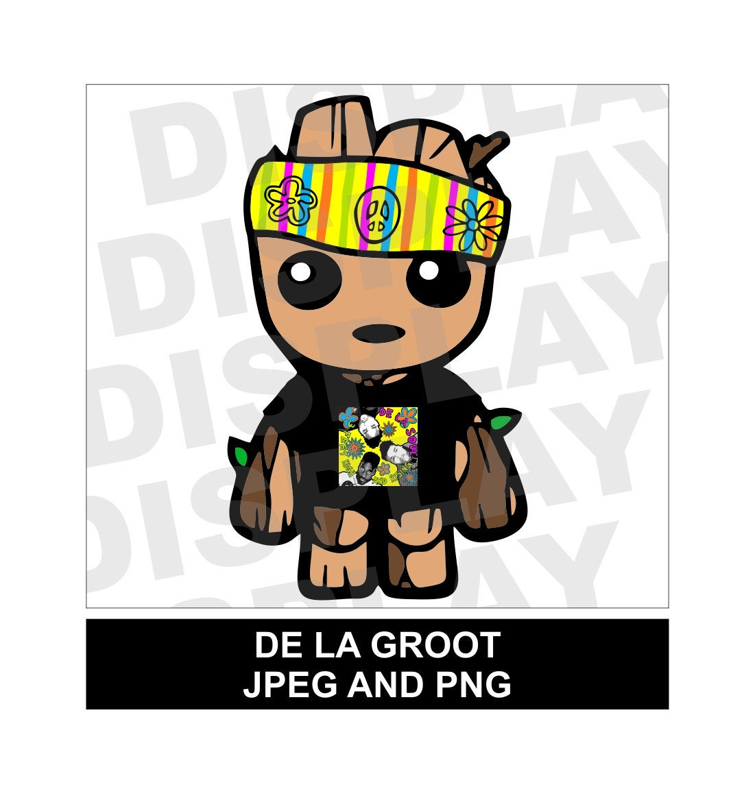 De La Groot Inspired Fashion Clipart JPEG and PNG Digital Download.