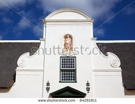 Cape Dutch Architecture Banco de imágenes. Fotos y vectores libres.