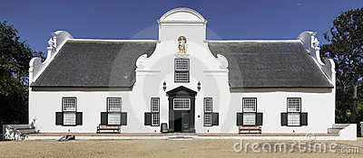 Groot Constantia, Cape Town, South Africa Stock Photography.