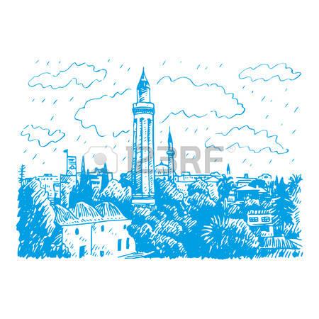 209 Antalya Turkey Stock Vector Illustration And Royalty Free.