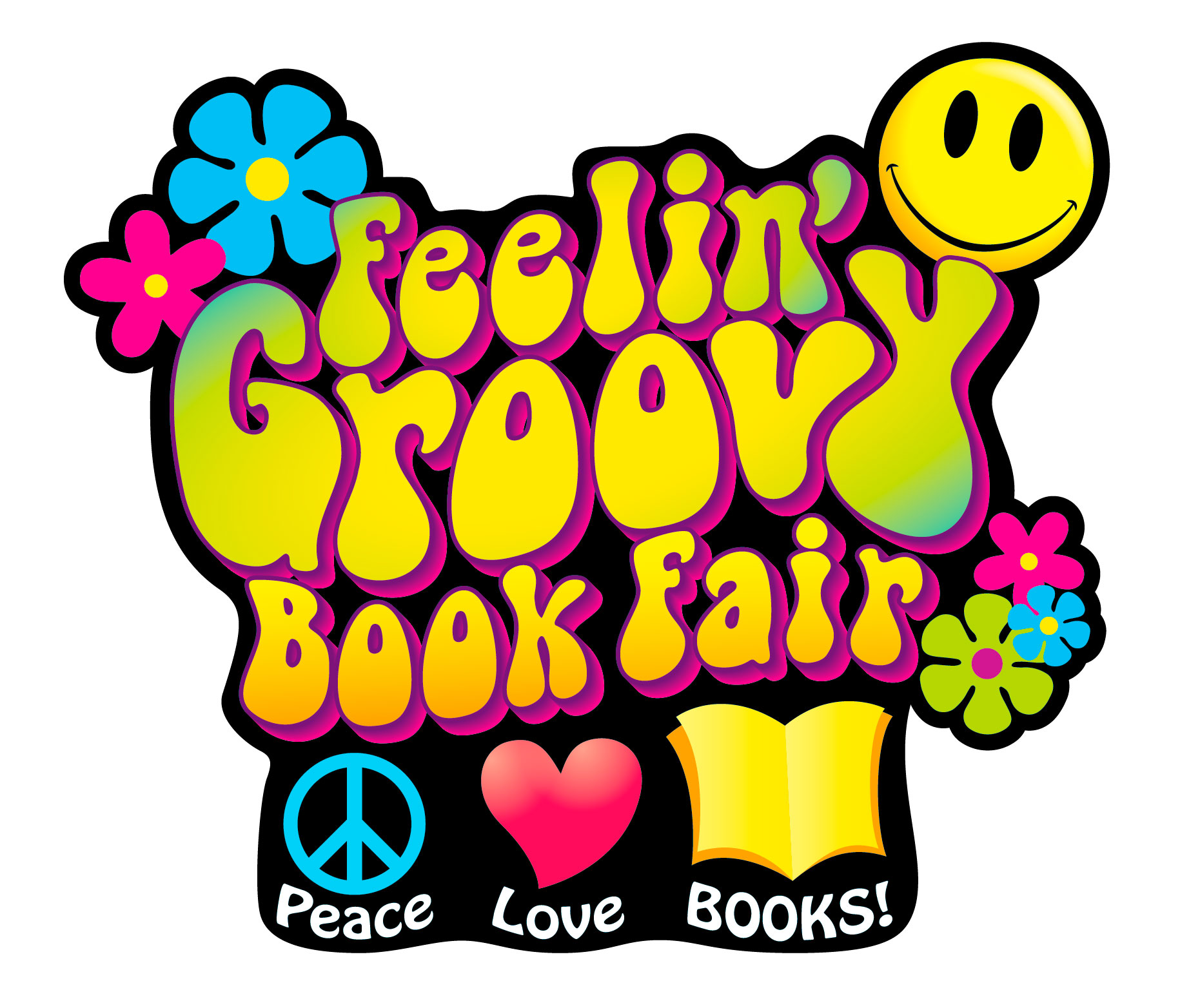 Groovy pictures clip art.