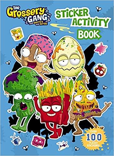 Grossery Gang: Sticker Activity Book: 9781742769530.