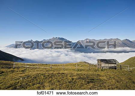 Stock Photography of Austria, Großglockner, Mountain scenery.
