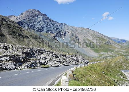 Pictures of Grossglockner High alpine road.