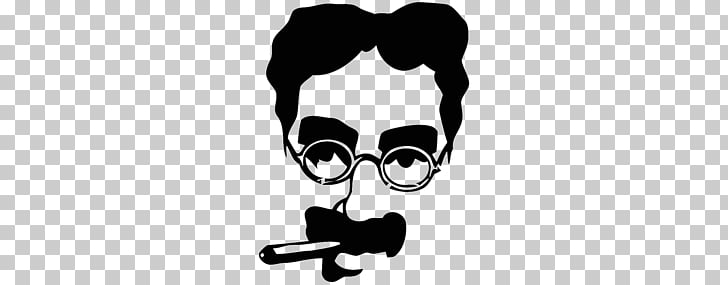 Groucho glasses Comedian Humour Caricature Marx Brothers.