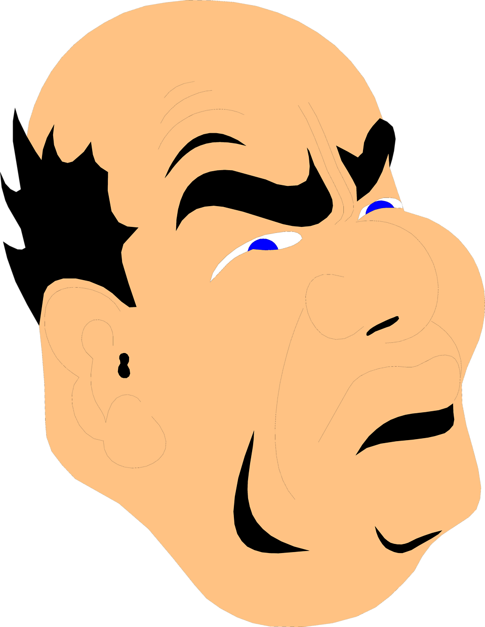 Mad clipart grouchy, Mad grouchy Transparent FREE for.