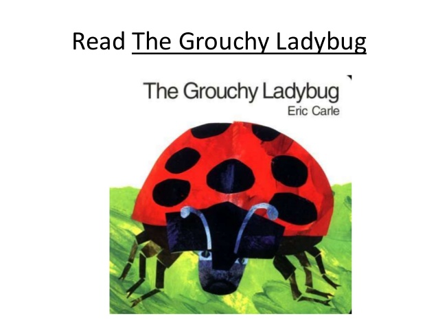 Companion guide to the grouchy ladybug.