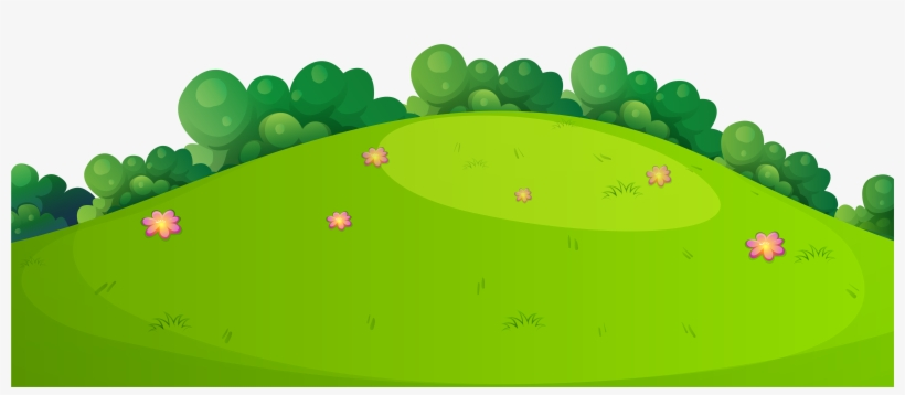 Meadow Grass Ground Png Clip Art Image.