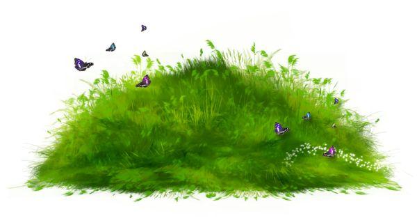 Grass ground clipart.