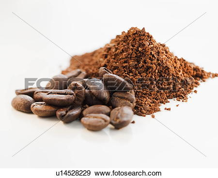 Ground coffee clipart #2