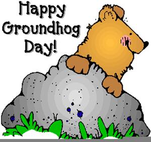 Ground Hog Day Clipart.
