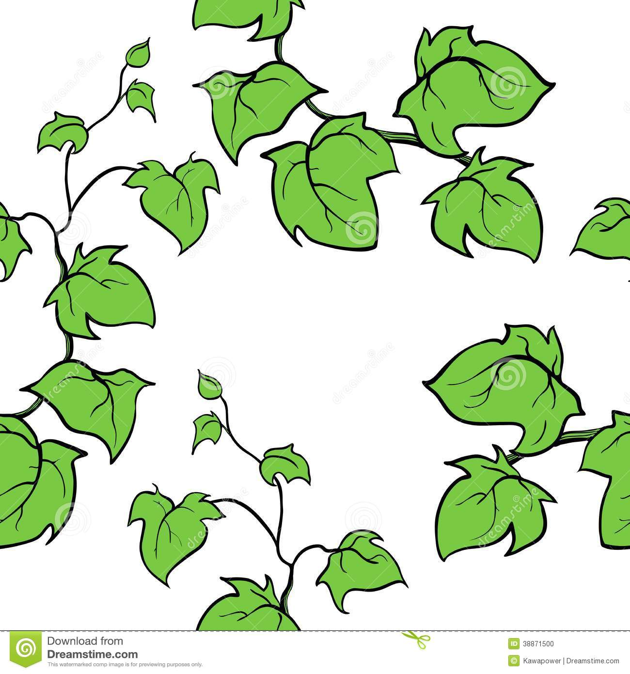 Ground Ivy Stock Illustrations.