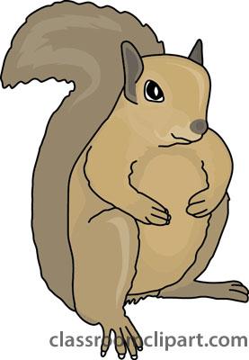 Ground squirrel clipart.