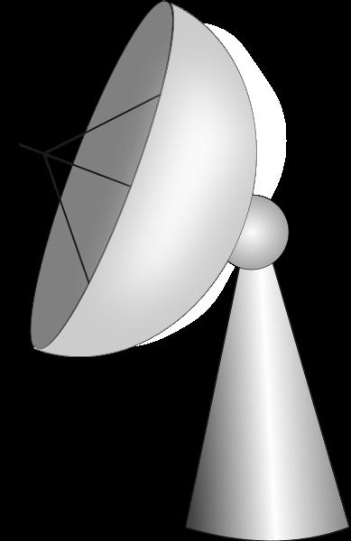Satellite Earth Station SVG Vector file, vector clip art svg file.