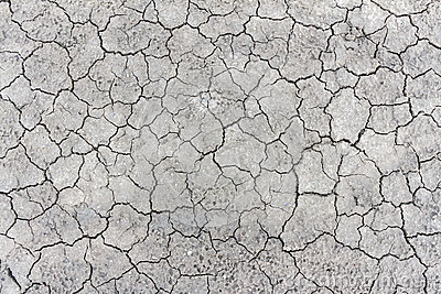 The Cracks Texture Ground Surface Stock Photo.