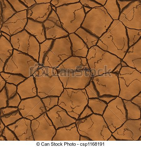 Clipart of Parched earth.