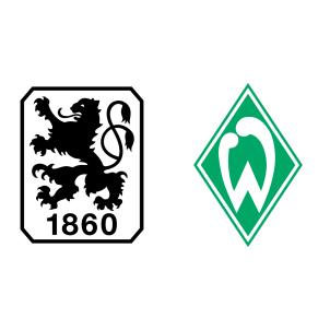 1860 München vs Werder Bremen Head to Head H2H Statistics.