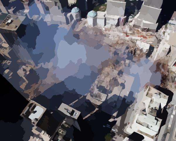 Wtc Ground Zero Aerial Clip Art at Clker.com.