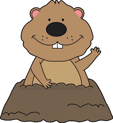 Groundhog Day Clip Art.