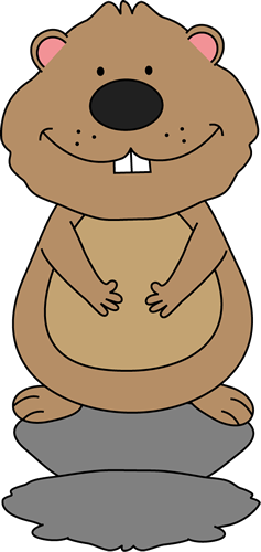 Groundhog Day Clip Art.