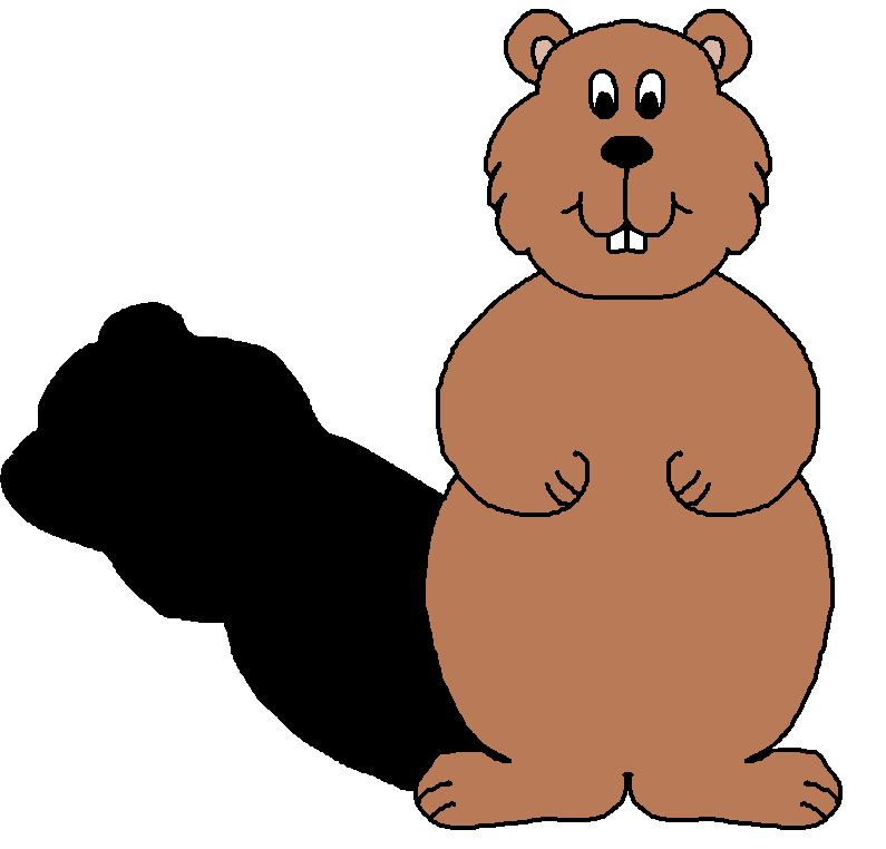 Groundhog Clipart.