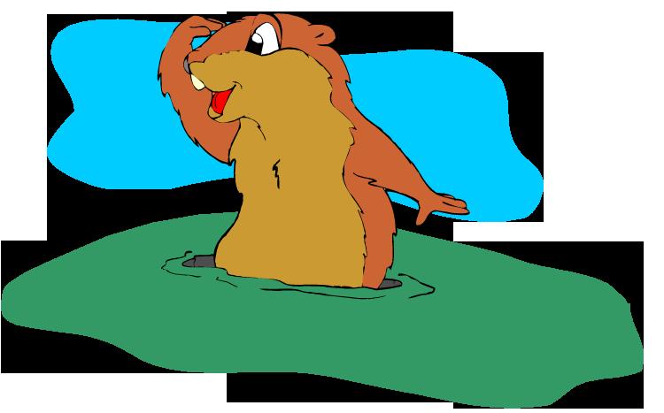 Groundhog 20clipart.