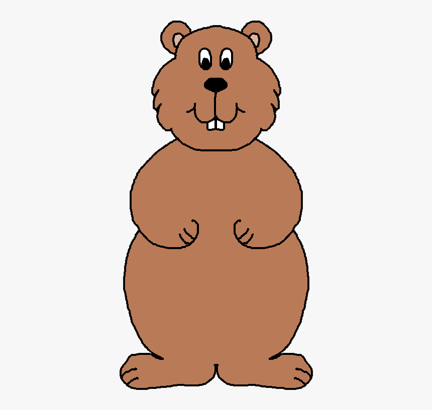 Groundhog Clipart Free, HD Png Download.