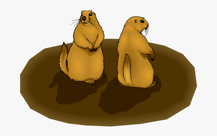 Free Groundhog Clipart.