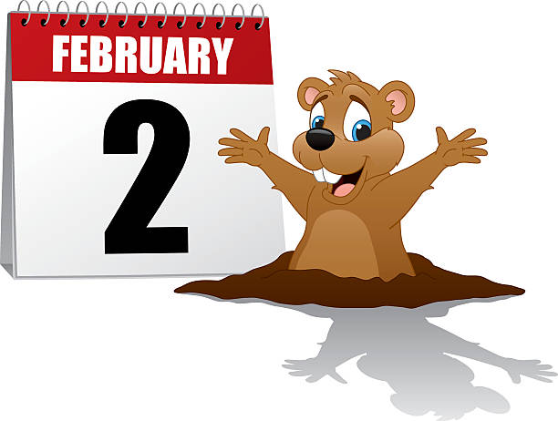 Best Groundhog Day 2015 Illustrations, Royalty.