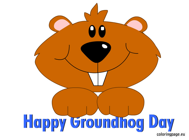 Groundhog day clipart 7 » Clipart Station.