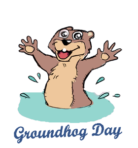 Groundhog Day Clipart Images.
