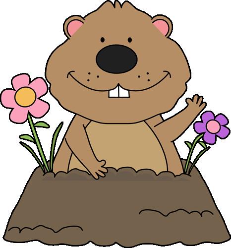 Clipart Groundhog.