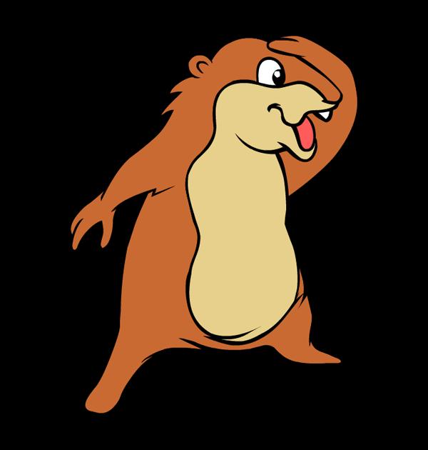 Groundhog clipart groundhog hole, Groundhog groundhog hole.