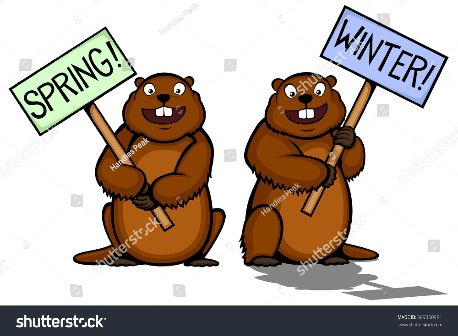 Groundhog shadow clipart 5 » Clipart Station.
