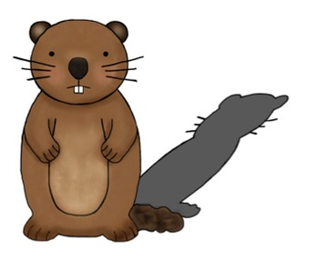 Groundhog Day/Weather Clipart {February}.