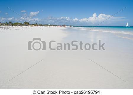 Stock Photographs of Tropical beach ground level.