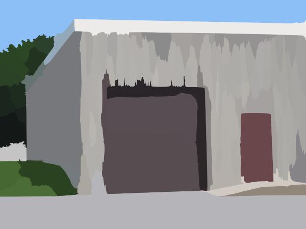 Ground Level Bay Door Clip Art at Clker.com.