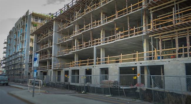 Ground Level Apartment Complex Clip Art, The Hermitage Apartments.
