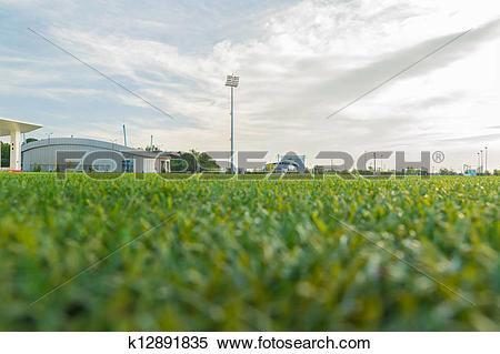Stock Image of Stadium Ground Level k12891835.
