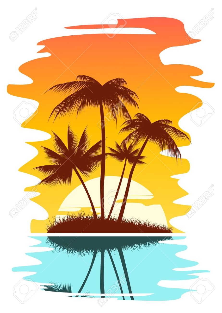 Ground Sunset Clipart Clip art of Sunset Clipart #4972 — Clipartwork.